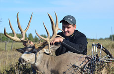 mule deer bow hunts alberta canada